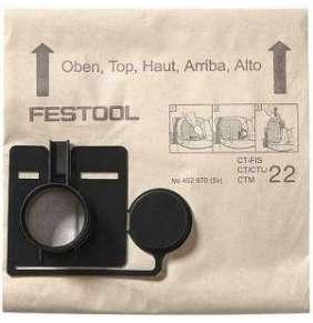 Festool Filtrační vak FIS-CT 22/5