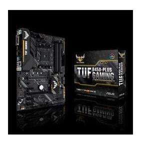 ASUS TUF B450-PLUS GAMING soc.AM4 B450 DDR4 ATX M.2 USB-C DVI HDMI