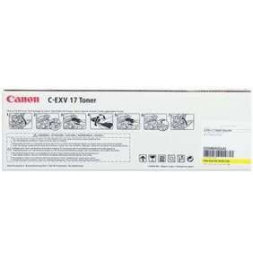 toner CANON C-EXV17 yellow iRC4080i/C4580i/C5185i