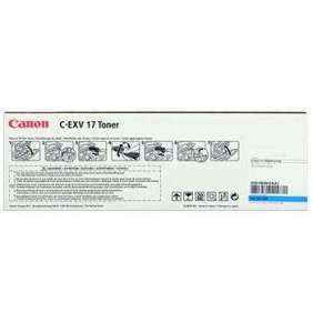 toner CANON C-EXV17 cyan iRC4080i/C4580i/C5185i