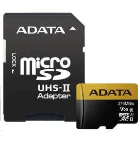 ADATA Premier One 64GB microSDXC/ UHS-II U3 CL10 + adaptér