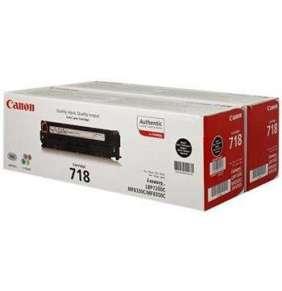 Canon LASER TONER black CRG-718 BK VP (2PK) 6 800 stran*