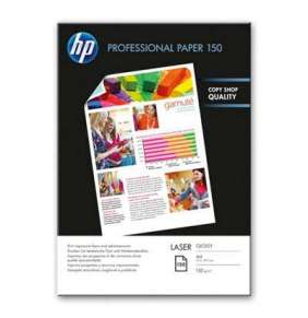HP Professional Glossy Laser Paper 150 gsm-150 sht/A4/210 x 297 mm,  150 g/m2, CG965A