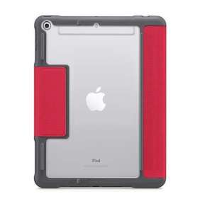 """STM puzdro Dux Plus with Apple Pencil storage pre iPad 9.7"""" 2018 - Red"""
