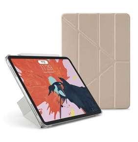 """Pipetto puzdro Origami Case pre iPad Pro 11"""" 2018 - Champagne Gold & Clear"""