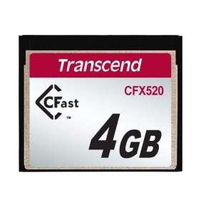 Transcend 4GB INDUSTRIAL CFAST CFX520 paměťová karta (SLC)
