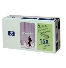 HP 15X, Black toner pre HP LaserJet 1000w, 1005w, 1200, 1220, 3300, 3320, 3380, 2500 strán
