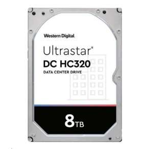 Western Digital Ultrastar® HDD 8TB (HUS728T8TALE6L4) DC HC320 3.5in 26.1MM 256MB 7200RPM SATA 512E SE (GOLD WD8003FRYZ)