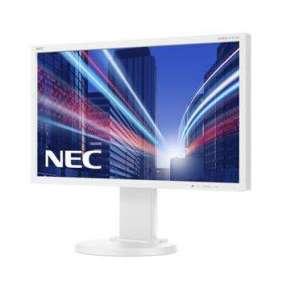 "NEC 22"" E224Wi - 1920x1080, IPS, W-LED, 250cd, D-sub, DVI, DP, bílý"