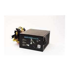 Zdroj 550W 1stCOOL WHITE STORM 550, účinnosť 85+, 12cm ventilátor, bulk