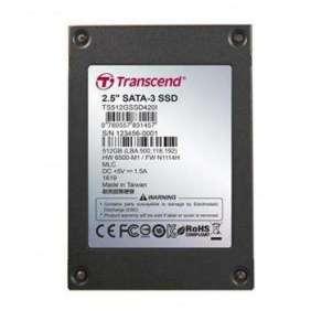 "TRANSCEND SSD420I 512GB Industrial SSD disk2.5"" SATA3, MLC, Ind., Iron case, černý"