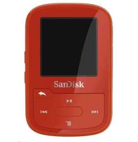 Sandisk Clip Sport plus MP3 prehrávač 16GB, červený