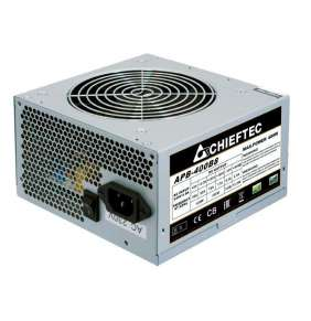 CHIEFTEC zdroj Value, APB-400B8, 400W, ATX-12V V.2.3 , PS-2 type with 12cm Fan, Active PFC, 230V