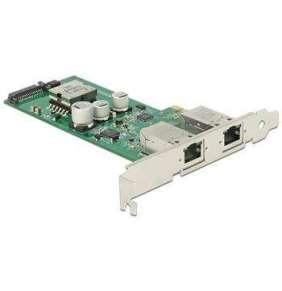 Delock PCI Express Card   2 x 1 Gigabit LAN PoE+ RJ45