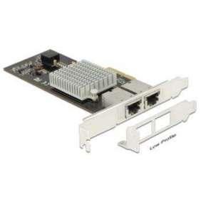 Delock PCI Express Card   2 x 10 Gigabit LAN RJ45