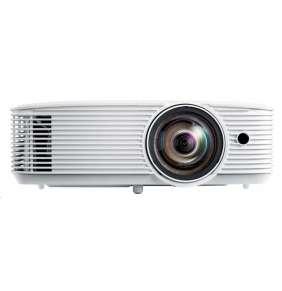 Optoma projektor H116ST (DLP, FULL 3D, WXGA, 3 600 ANSI, HDMI, VGA, USB, RS232, 10W speaker)