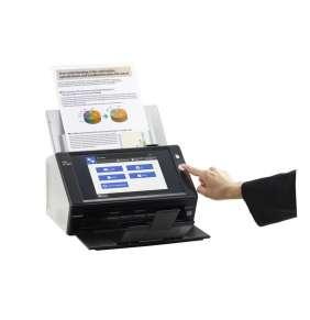 Fujitsu ScanSnap N7100, NW Scanner,  duplex, A4,  25 Sheets/Min colour Duplex ADF 50, 1000BASE-T, Open APPI (SDK)