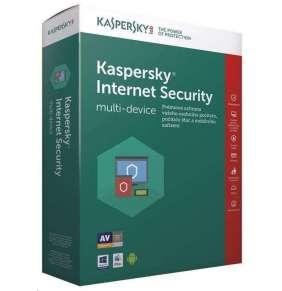 Kaspersky Internet Security CZ multi-device, 1 zařízení, 1 rok, nová licence, elektronicky
