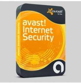 Avast  Internet Security, Nová licence, 1 PC, 1 Rok, BOX