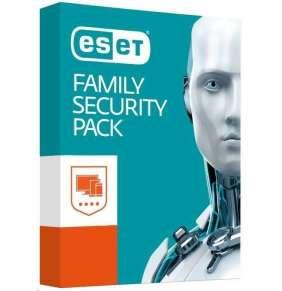 ESET Family Security Pack: Krabicová licencia pre 4 zariadenia na 18 mesiacov