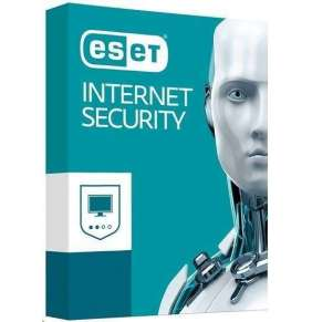 ESET Internet Security OEM 1 PC + 1 ročný update - Krabicová licencia