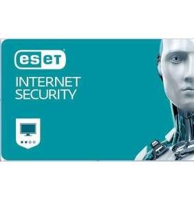 ESET Internet Security 1 - ročné predĺženie pre 4 PC EDU