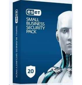 ESET Small Business Security 20 Pack: 20x PC + 5x Mobile + 25x Mail Sec. + 2x File Security na 1 rok