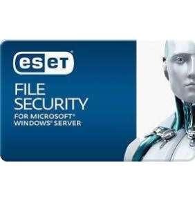 ESET File Security for Microsoft Windows Server 4 SRV - 1 ročné predĺženie EDU
