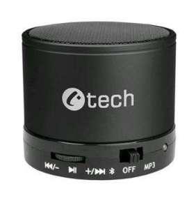 C-TECH reproduktor SPK-04B, bluetooth, handsfree, čtečka micro SD karet/přehrávač, FM rádio, černý