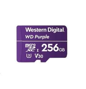 WD MicroSDXC karta 256GB Purple WDD256G1P0A Class 10 (R:80/W:50 MB/s)