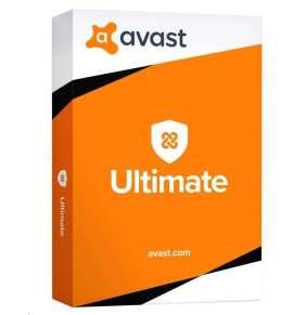 AVAST Ultimate, 1 uživatel, 1 rok