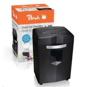 Peach PS500-80, cross cut 4x35mm, 18 listov, CC, CD, kôš 26 l, P-4