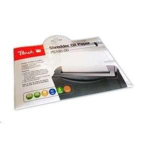 Peach PS100-00 Document Shredder Service Kit olejový papier pre skartovačky