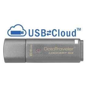 64GB USB 3.0 DT Locker+ G3 (vc. A. Data Security)