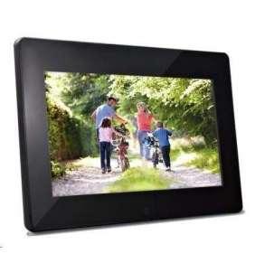 """Braun LCD fotorám DigiFRAME 1091 (10"""", 1280x800px, 16:9 LED, FullHD, HDMI, černý)"""