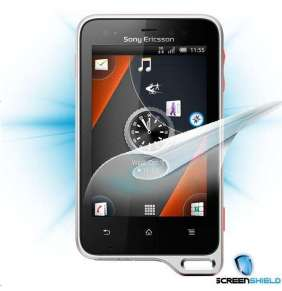 Screenshield fólie na displej pro Sony Ericsson Xperia active (ST17)