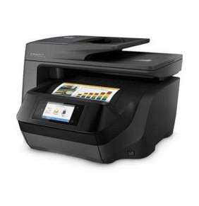 HP All-in-One Officejet Pro 8725 (A4, 24/20 ppm, USB 2.0, Ethernet, Wi-Fi, Print/Scan/Copy/Fax)