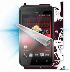 ScreenShield fólie na displej + skin voucher (vč. popl. za dopr. k zákazníkovi) pro HTC Desire 200