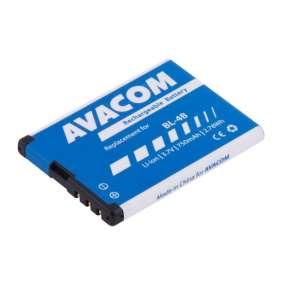 Baterie AVACOM GSNO-BL4B-S750 do mobilu Nokia 6111 Li-Ion 3,7V 750mAh (náhrada BL-4B)