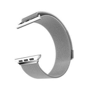HOCO remienok Milanese Edition pre Apple Watch 38/40 mm - Silver
