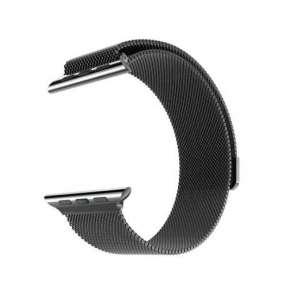 HOCO remienok Milanese Edition pre Apple Watch 42/44 mm - Black