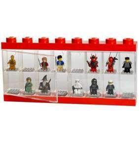 LEGO zberateľská skrinka na 16 mini figuriek - červená