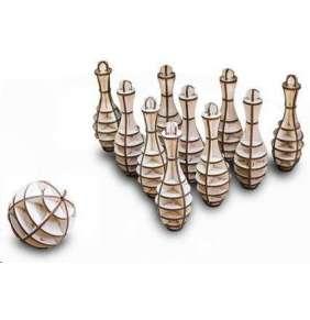 EWA MINI BOWLING dřevěný skládací model