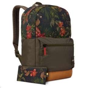 """Case Logic batoh Commence CCAM1116 pro notebook 15,6"""", 24 l, květinový vzor"""