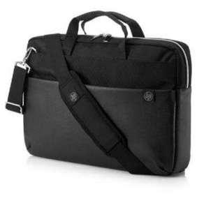 HP 15.6 Duotone Slvr Briefcase
