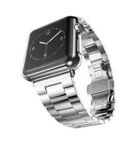 HOCO remienok Grand Series pre Apple Watch 42/44 mm - Silver