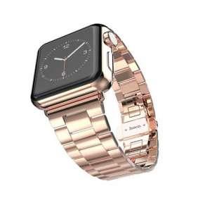 HOCO remienok Grand Series pre Apple Watch 42/44 mm - Rose Gold