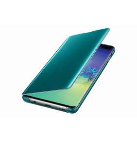 Samsung Clear View Cover S10+ Green