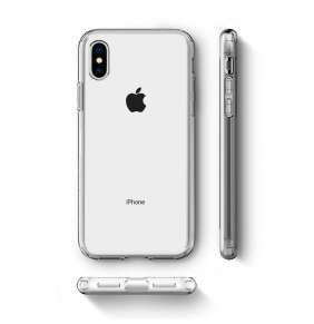 Kryt Spigen Liquid Crystal pro Apple iPhone XS/X