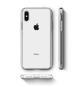 Spigen kryt Liquid Crystal pre iPhone XS - Clear
